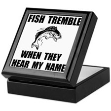 Fish Tremble Keepsake Box