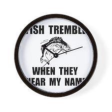Fish Tremble Wall Clock