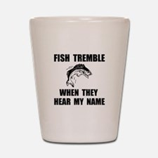 Fish Tremble Shot Glass
