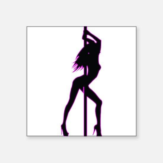Stripper - Strip Club - Pole Dancer Sticker