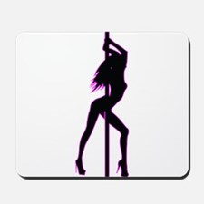 Stripper - Strip Club - Pole Dancer Mousepad