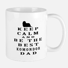 Komondor Dad Designs Mug