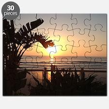 Ocean Sun Set Puzzle