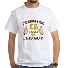 Funny 13th Birthday For Boys Shirt