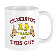 Funny 13th Birthday For Boys Mug