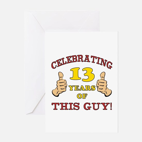 13 Year Old Boy Stationery – 13 Year Old Birthday Card