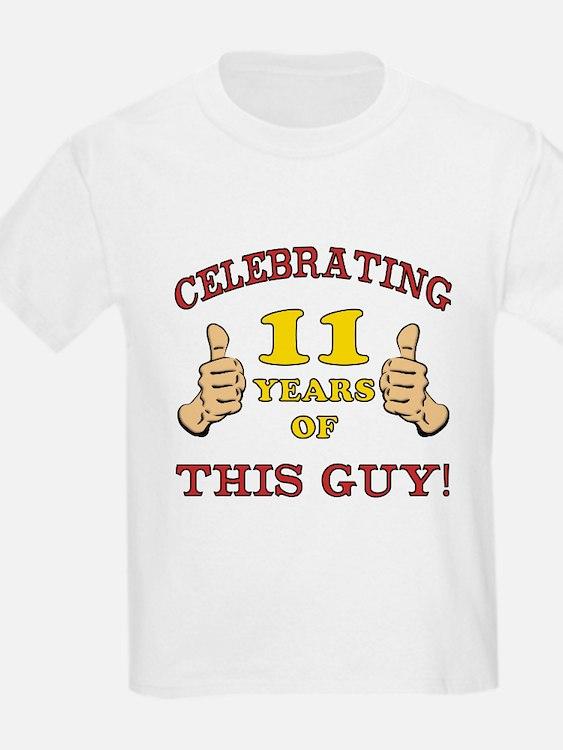 Funny 11th Birthday For Boys T-Shirt