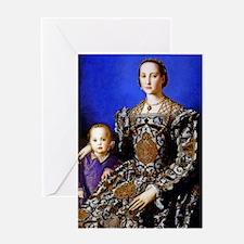 Bronzino - Eleonora di Toledo Greeting Card