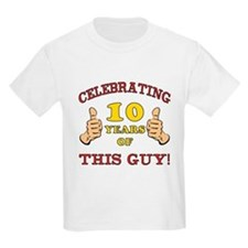 Funny 10th Birthday For Boys T-Shirt