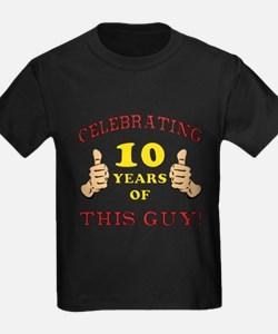 Funny 10th Birthday For Boys T