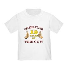Funny 10th Birthday For Boys T