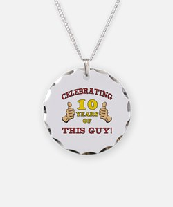 Funny 10th Birthday For Boys Necklace