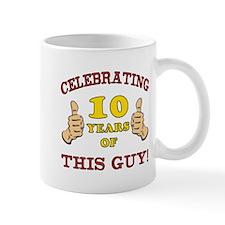 Funny 10th Birthday For Boys Mug