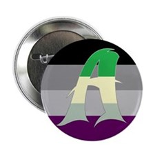 """Aromantic Asexual #2 2.25"""" Button"""