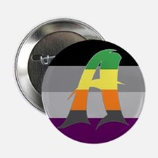 "Aromantic Asexual #1 2.25"" Button"