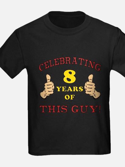 Funny 8th Birthday For Boys T