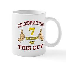 Funny 7th Birthday For Boys Mug