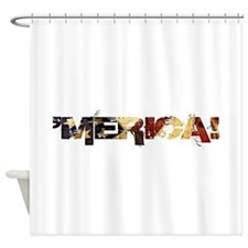 'Merica! Shower Curtain