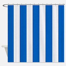 Nautical Royal Blue Shower Curtains Nautical Royal Blue Fabric