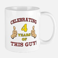 Funny 4th Birthday For Boys Mug