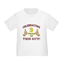 Funny 3rd Birthday For Boys T