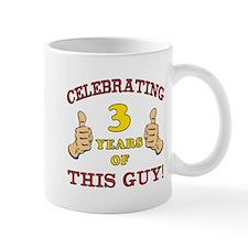 Funny 3rd Birthday For Boys Mug