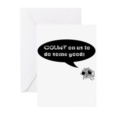 FSM COUNT Logo Greeting Cards (Pk of 20)