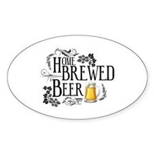 Home Brewed Beer Decal