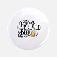 "Home Brewed Beer 3.5"" Button (100 pack)"