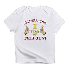Funny 1st Birthday For Boys Infant T-Shirt