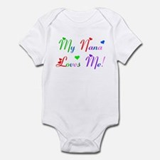 My Nana Loves Me (des. #2) Infant Bodysuit