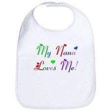 My Nana Loves Me (des. #2) Bib