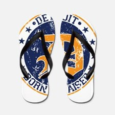 Detroit born and raised Flip Flops