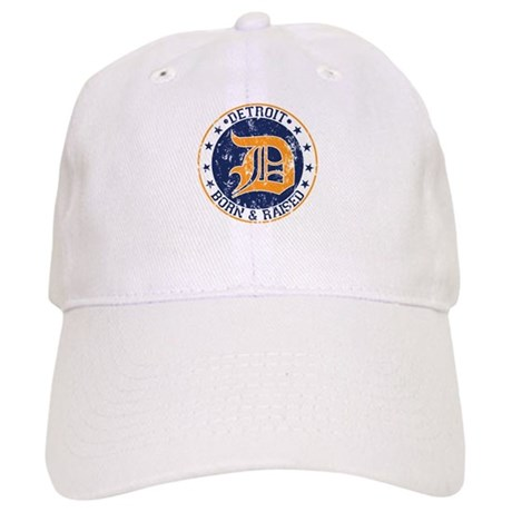 Detroit born and raised Baseball Cap