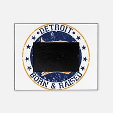 Detroit born and raised Picture Frame