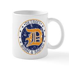 Detroit born and raised Mug