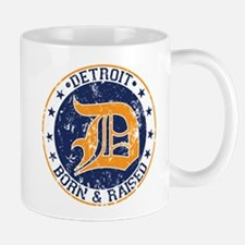 Detroit born and raised Mug
