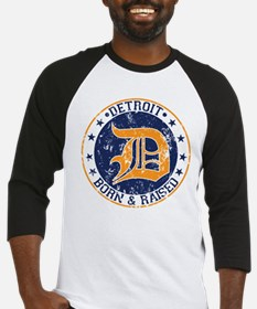 Detroit born and raised Baseball Jersey
