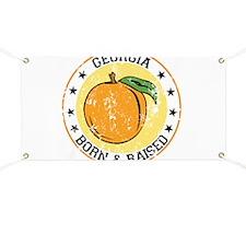 Georgia peach born raised Banner