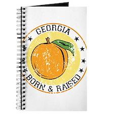Georgia peach born raised Journal