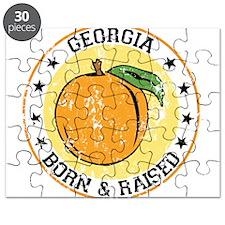 Georgia peach born raised Puzzle