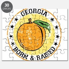 Georgia peach born raised Puzzle