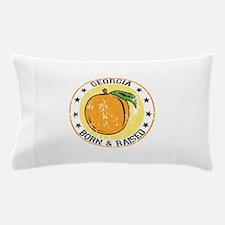 Georgia peach born raised Pillow Case