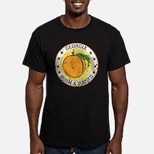 Georgia peach born raised T-Shirt