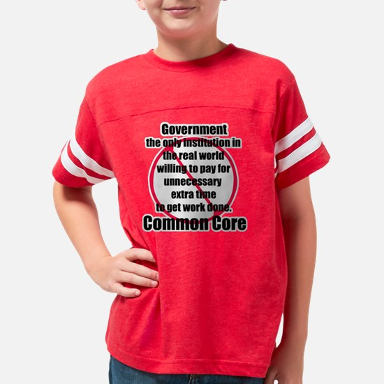 Common core Youth Football Shirt
