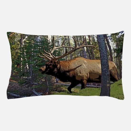 Bull Elk 3 Pillow Case