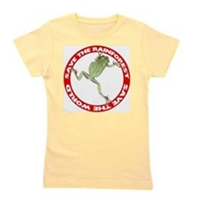 FIN-save-rainforest-treefrog.png Girl's Tee