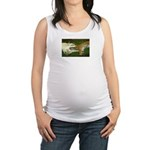 Wildlife Valentine's Day Card Maternity Tank Top