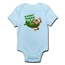 monkey trouble Body Suit
