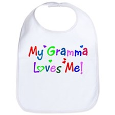 My Gramma Loves Me (des. #1) Bib
